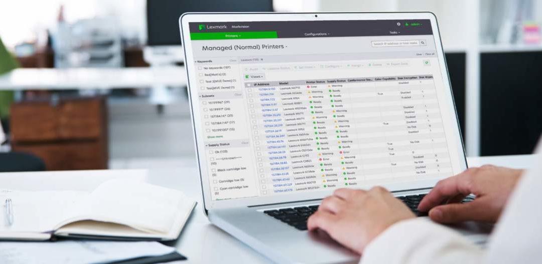 Lexmark izdal Markvision Enterprise 3.0